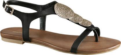 Graceland Zwarte sandaal