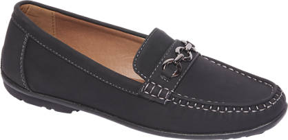 Easy Street Zwarte loafer