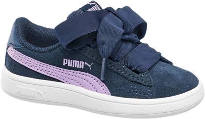 Puma Smash Ribbon Lædersneaker
