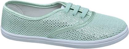 Graceland Mint sneaker metallic