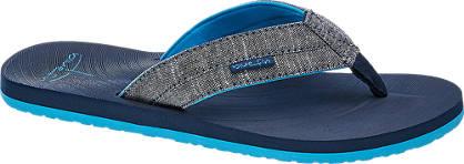 Blue Fin Flip Flop