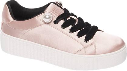 Graceland Roze sneaker plateauzool