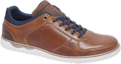 AM shoe Cognac leren sneaker