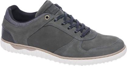 AM shoe Donkergroene leren sneaker