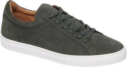 AM shoe Donker groene nubuck sneaker