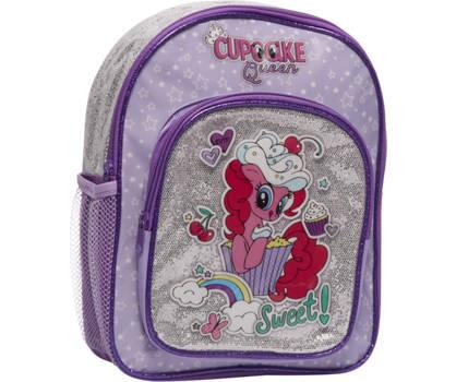My little Pony Paarse rugzak glitters