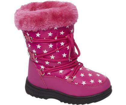 Roze snowboot sierbontje