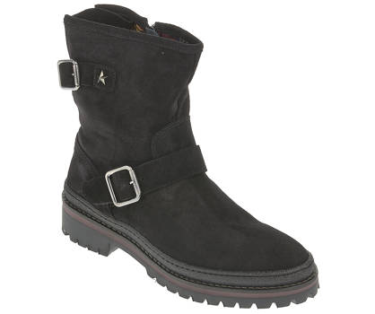 Tommy Hilfiger Boots - BASIC BIKER BOOT SUEDE