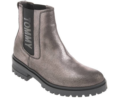 Tommy Jeans Chelsea-Boots - METALLIC CLEATED CHELSEA BOOT