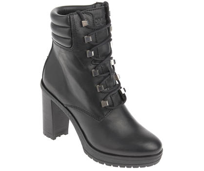 Tommy Jeans Schnürstiefelette - STUDS LACE UP HEELED BOOT
