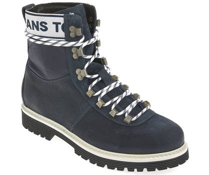 Tommy Jeans Schnürboots - TOMMY JEANS CANVAS SUEDE