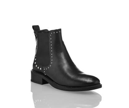 Oxmox Oxmox Mara Damen Chelsea Boot Schwarz