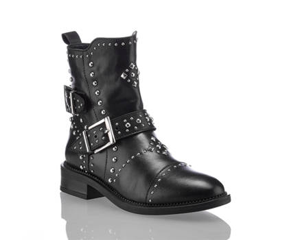 Oxmox Oxmox Mara boot donna nero