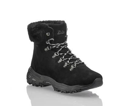 Skechers Skechers Dlites boot à lacet femmes noir