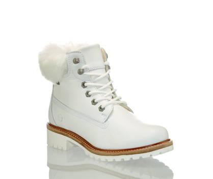 Tamaris Tamaris Catser boot à lacet femmes blanc