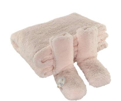 Pesaro Pesaro Damen Kuscheldecke mit 1 Paar Socken