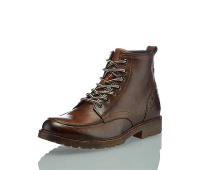 Oxmox Oxmox Mandrew boot da allacciare uomo marrone