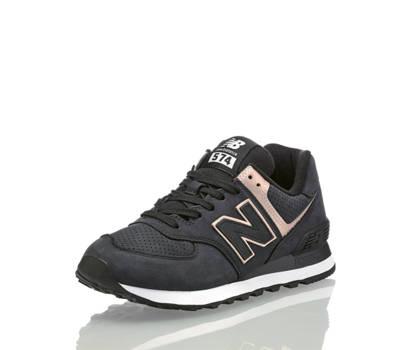 New Balance New Balance WL574NBK Damen Sneaker