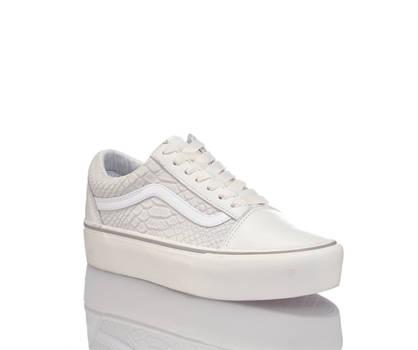 Vans Vans Old Skool Platform sneaker femmes blanc