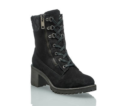 Oxmox Oxmox boot à lacet femmes noir