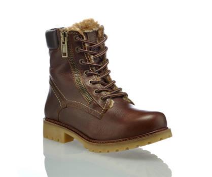 Oxmox Oxmox boot à lacet femmes brun