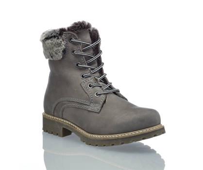 Oxmox Oxmox boot da allacciare donna grigio