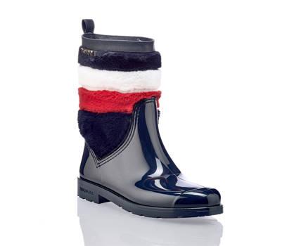 Tommy Hilfiger Tommy Hilfiger Oxford botte de pluie femmes bleu foncé