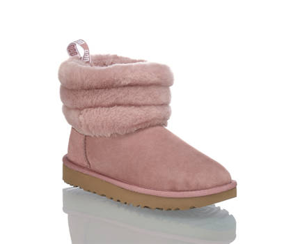 Ugg UGG Fluff Mini Quilted boot donna rosa