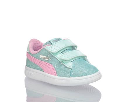 Puma Puma Smash Glitz Glam INF Mädchen Sneaker Mint