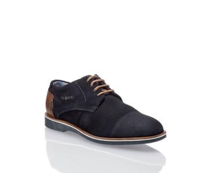 Bugatti Bugatti Melchiore chaussure de business hommes bleu
