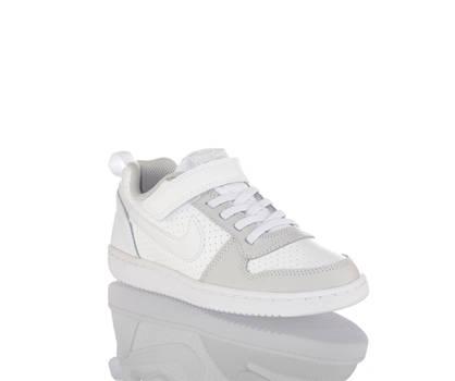 Nike Nike Court Borough sneaker bambini bianco