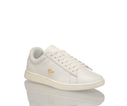 Lacoste Lacoste Carnaby Evo sneaker donna bianco sporco