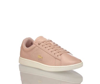 Lacoste Lacoste Carnaby Evo sneaker donna salmone