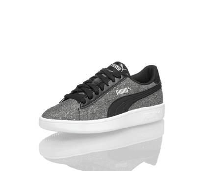 Puma Puma Smash Glitz Glam sneaker filles noir