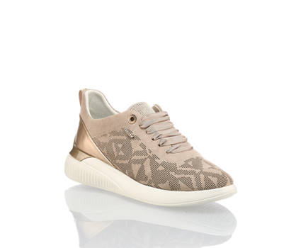 Geox Geox Theragon sneaker donna taupe