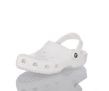 Crocs Crocs Classic clog uomo bianco
