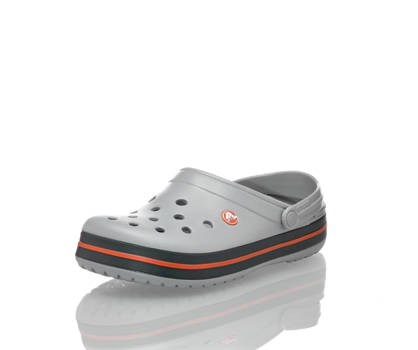 Crocs Crocs Crocband clog uomo grigio