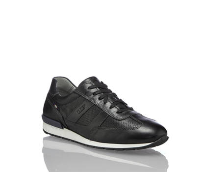 Fretzmen Fretzmen Jogger chaussure à lacet hommes noir