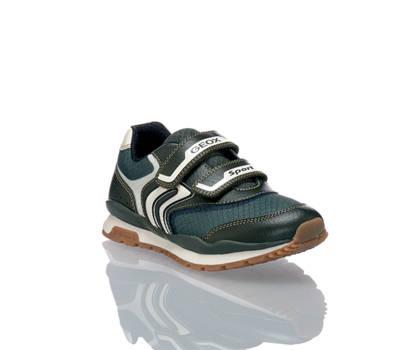 Geox Geox Pavel sneaker bambino oliva