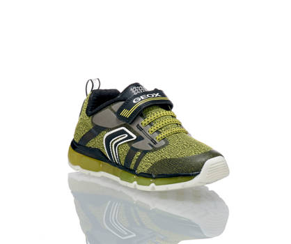 Geox Geox Android sneaker bambino giallo