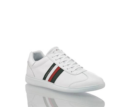 Tommy Hilfiger Tommy Hilfiger Essential Corporate Cupsole sneaker hommes blanc