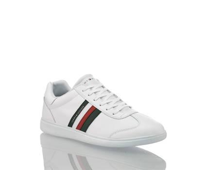 Tommy Hilfiger Tommy Hilfiger Essential Corporate Cupsole Herren Sneaker Weiss