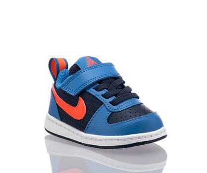 Nike Nike Court Borough Jungen Sneaker Blau