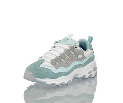 Skechers Skechers D'Lites Sure Thing Damen Sneaker Grau