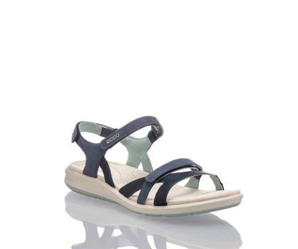 Ecco Ecco Cruise II Damen Flache Sandalette Blau