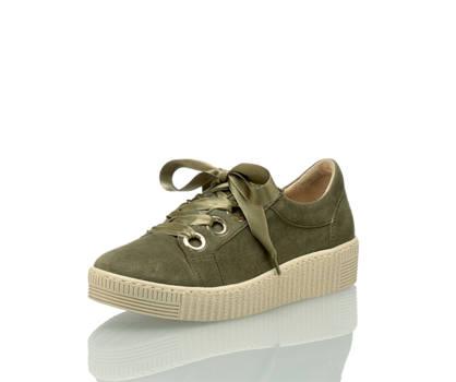 Gabor Gabor Damen Sneaker Olive