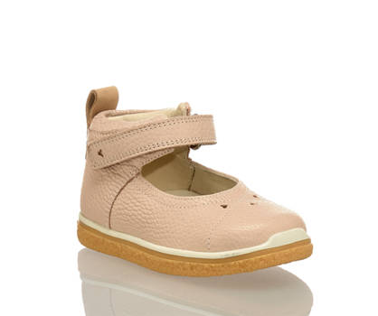 Ecco Ecco Crepertay Mini chaussure premiers pas filles rose
