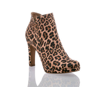 Tamaris Tamaris Damen Stiefelette Leopard