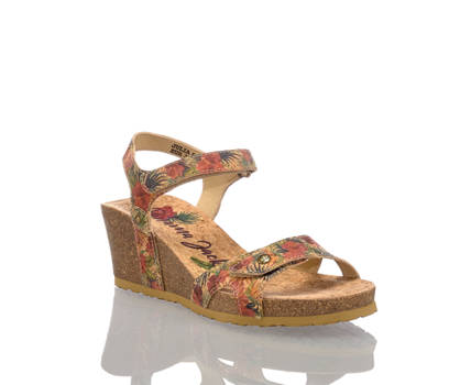 Panama Jack Panama Jack Damen Hohe Sandalette Multicolor