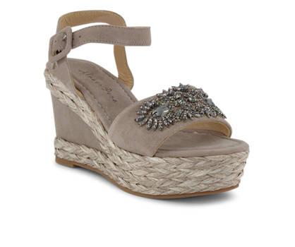 Alma en Pena Alma en Pena Damen Hohe Sandalette Taupe